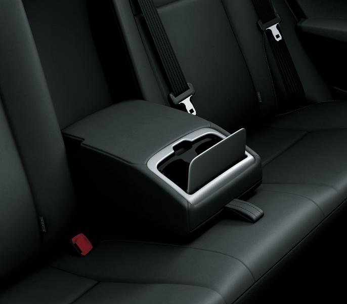 Tay tựa hàng ghế thứ 2