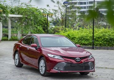 Những mẫu xe bán chạy nhất của Toyota trong tháng 4/2019