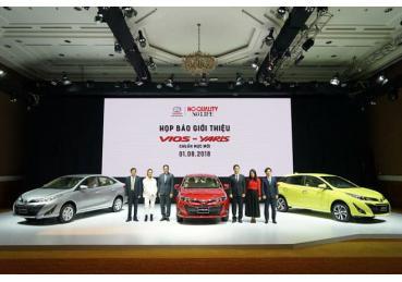 Doanh số Toyota Tháng 08/2018 - Vios tái chiếm vị trí đầu