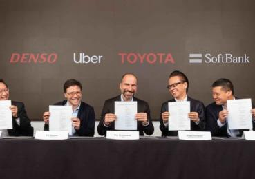 Mảng ôtô tự lái của Uber nhận đầu tư từ Toyota, SoftBank, Denso