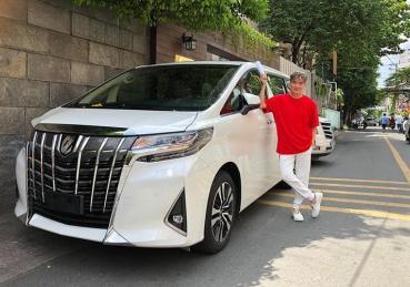 Ngắm xế sang tiền tỷ Toyota Alphard 2019 của Đàm Vĩnh Hưng