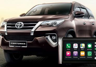 Toyota Innova và Fortuner sẽ được nâng cấp màn hình giải trí 9.0 inch