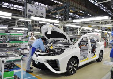 Toyota mua 5% cổ phần Mazda