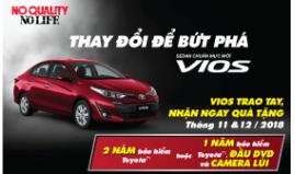 Toyota Việt Nam triển khai chương trình Vios