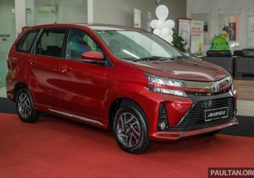 Xe Toyota Avanza thay đổi thiết kế